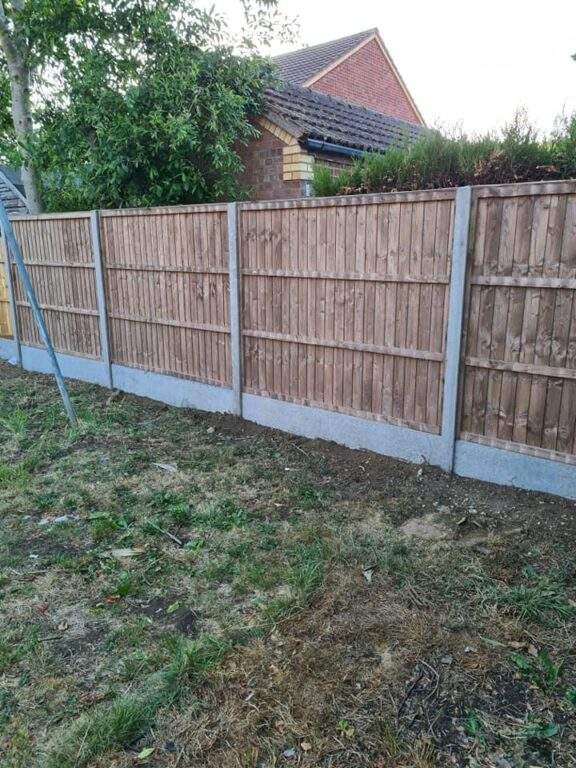 New Fencing installed in Werrington Peterborough