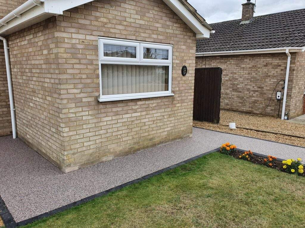 New Resin Pathway in Whittlesey