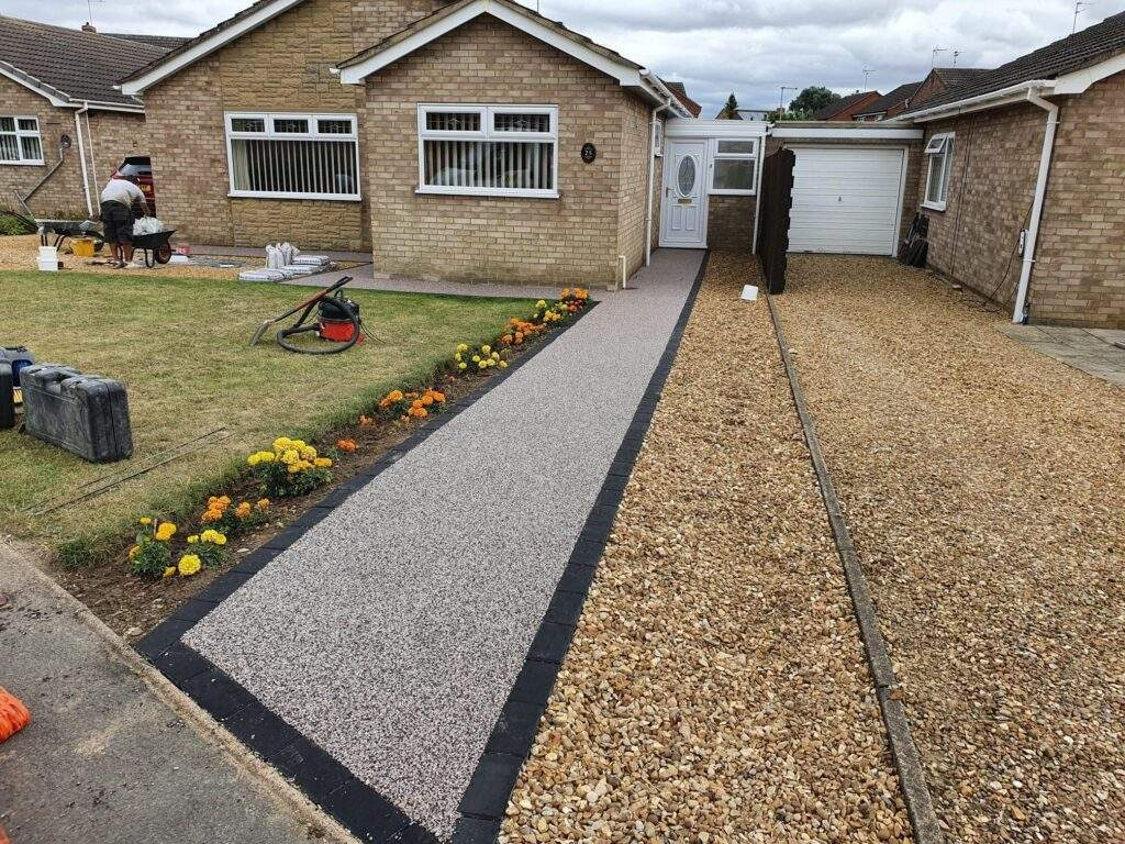 Resin Bound Pathway in Whittlesey