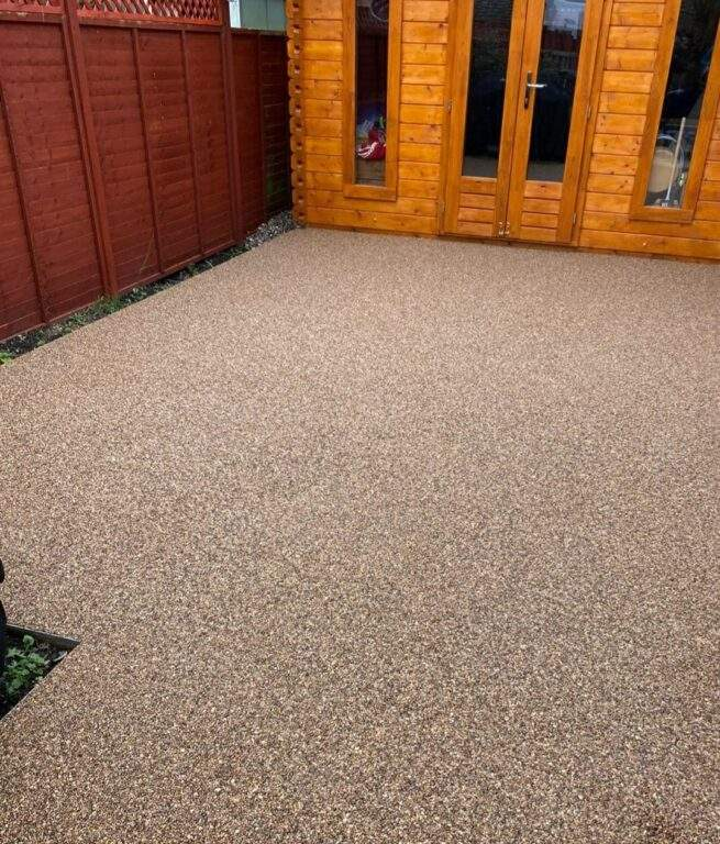 Resin Bound Patio Overlay in March
