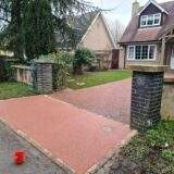 Small Resin Bound Driveway Entrance
