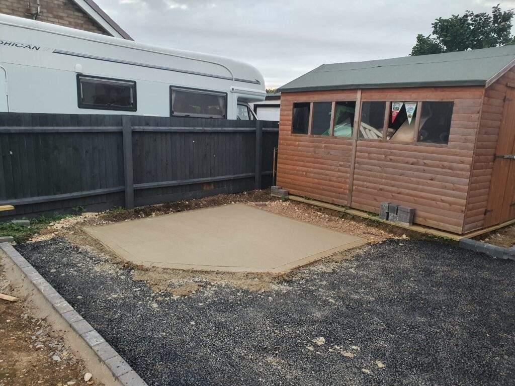 Summer House Concrete Base
