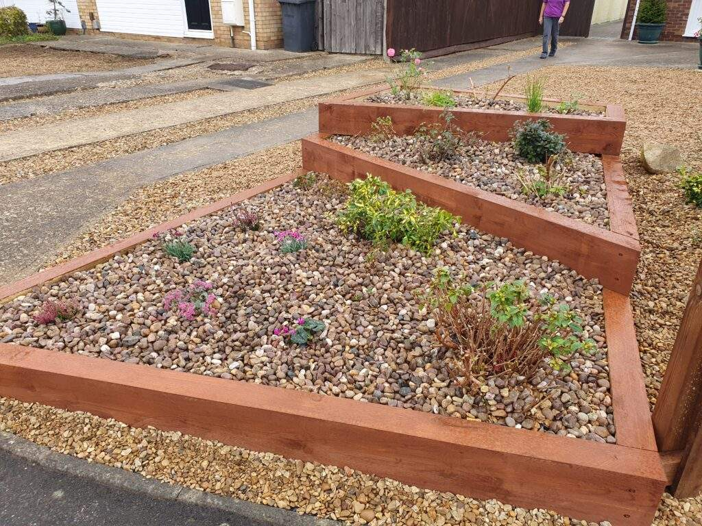 Raised Planters Built and installed in Peterborough