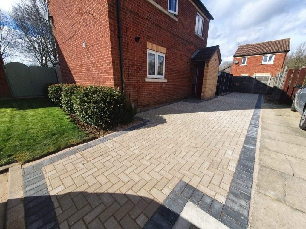 Block Paving installed in Werrington