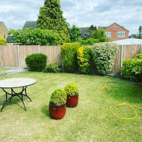 Fencing installed in Whittlesey