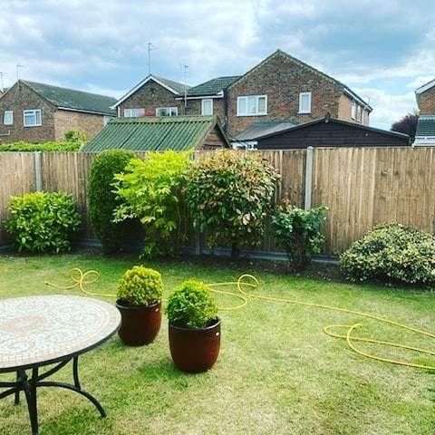 Large fencing install in Whittlesey