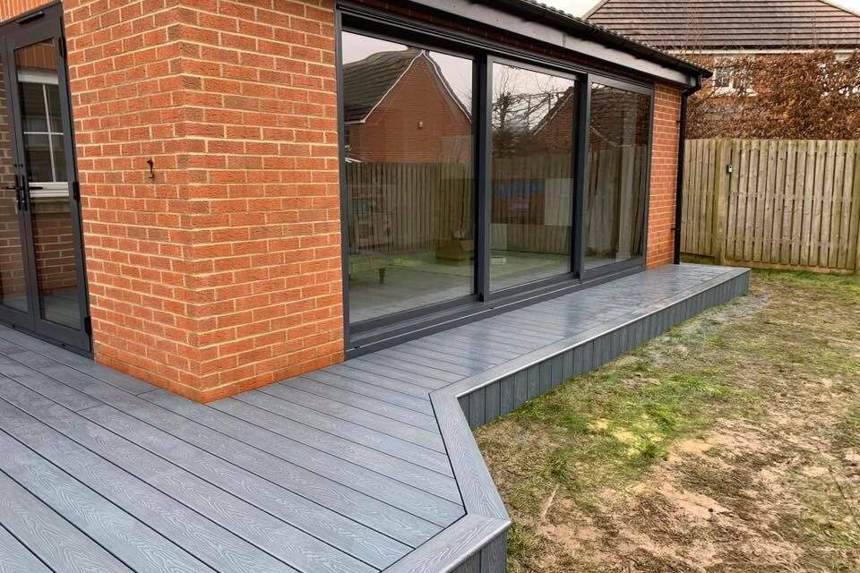 Decking Completed in Peterborough