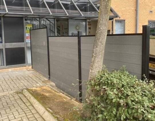 Composite Fencing Install in Peterborough