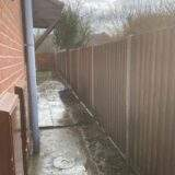 New Closeboard fencing panels installed in Peterborough