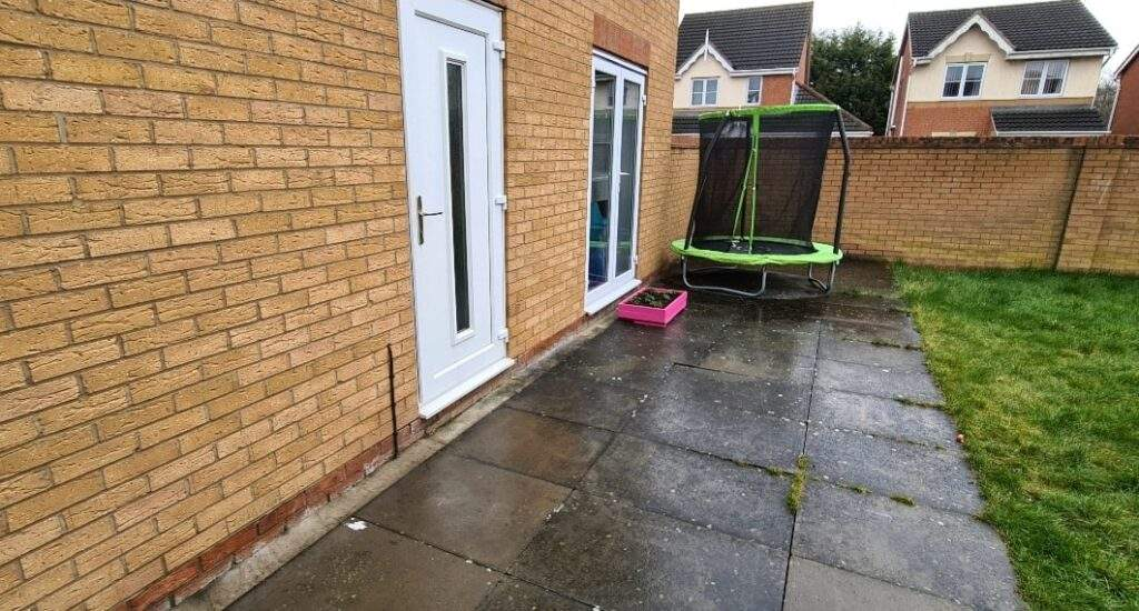 Old Patio Before Resin Bound