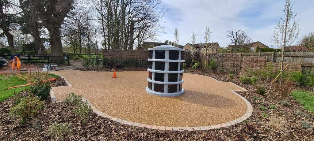 Resin Bound area for Market Deeping Cemetery
