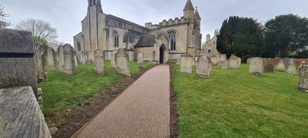 Resin Bound Pathway Completed for Nothborough Church