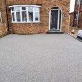 Resin Bound Driveway in Silver Completed in Stanground