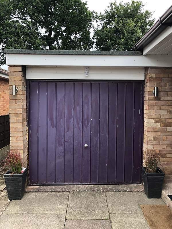 Old Garage Door Peterborough