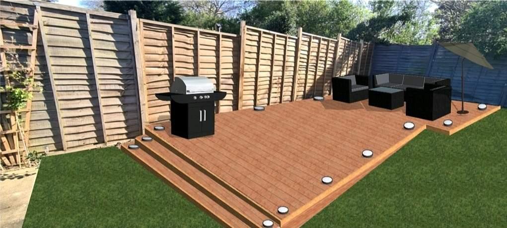 Decking Design Mock by Peterborough Improvements