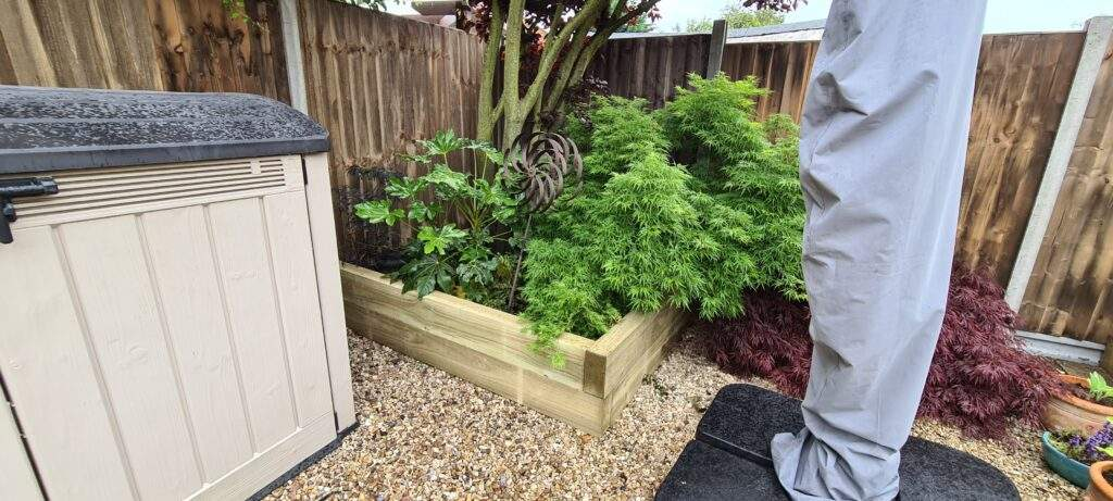 Peterborough Improvements Raised Wooden Borders
