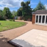Resin Bound and Porcelain installed by Peterborough Improvements