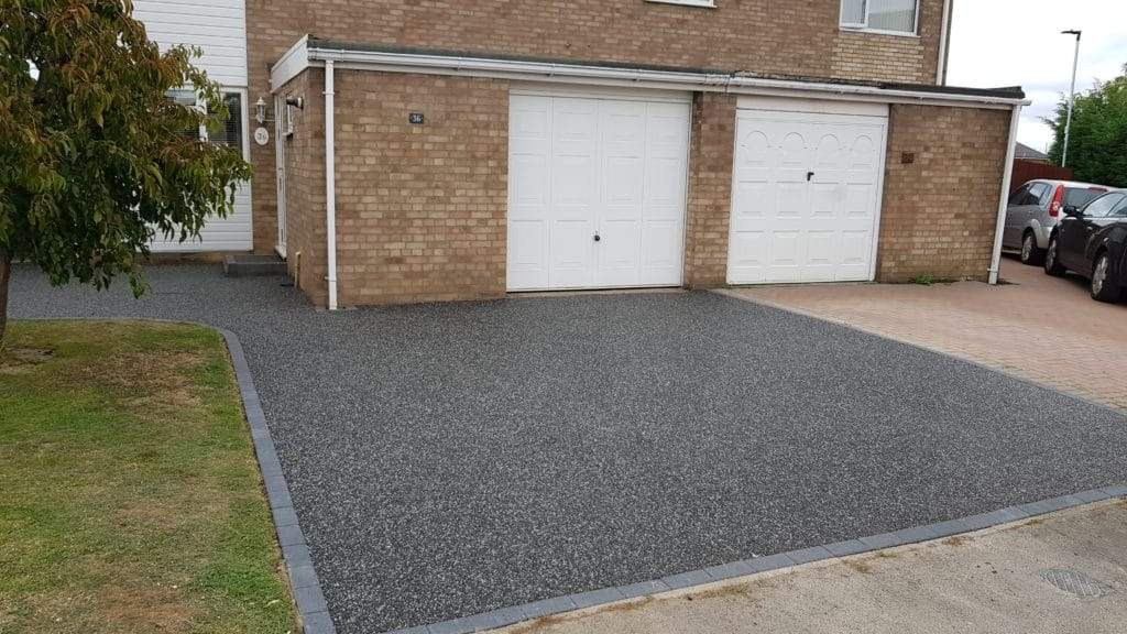Driveway installed in Peterborough