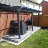 Decking and Lean To in Park Farm Peterborough