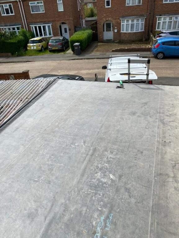EPDM Rubber Flat Roof Peterborough