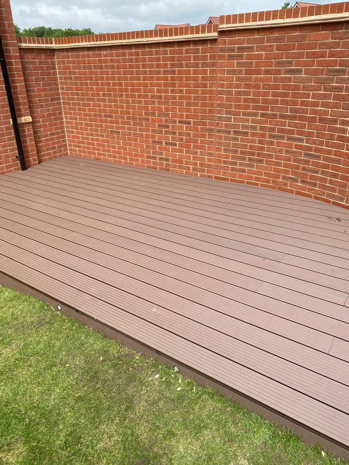 Composite Decking installed in Peterborough