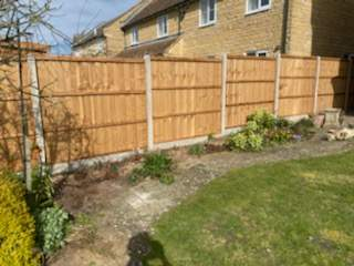Closeboard Fencing Installation in Whittlesey