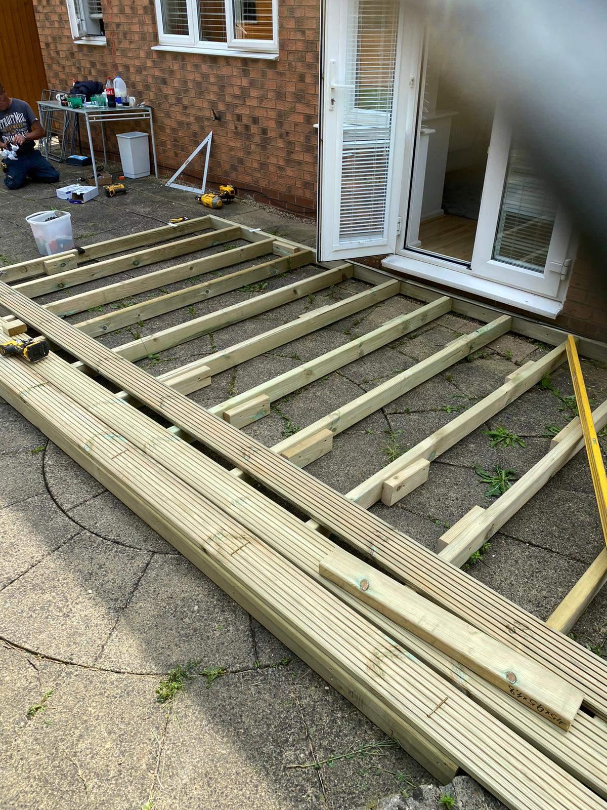 Decking Frame Peterborough