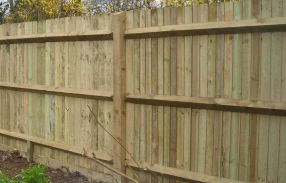 The Different Solid Fence Styles For Your Garden