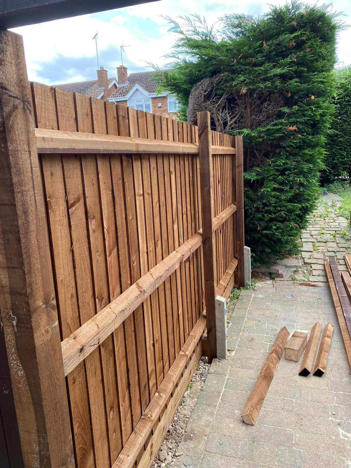 New Featheredge Fencing Installed in Gunthorpe