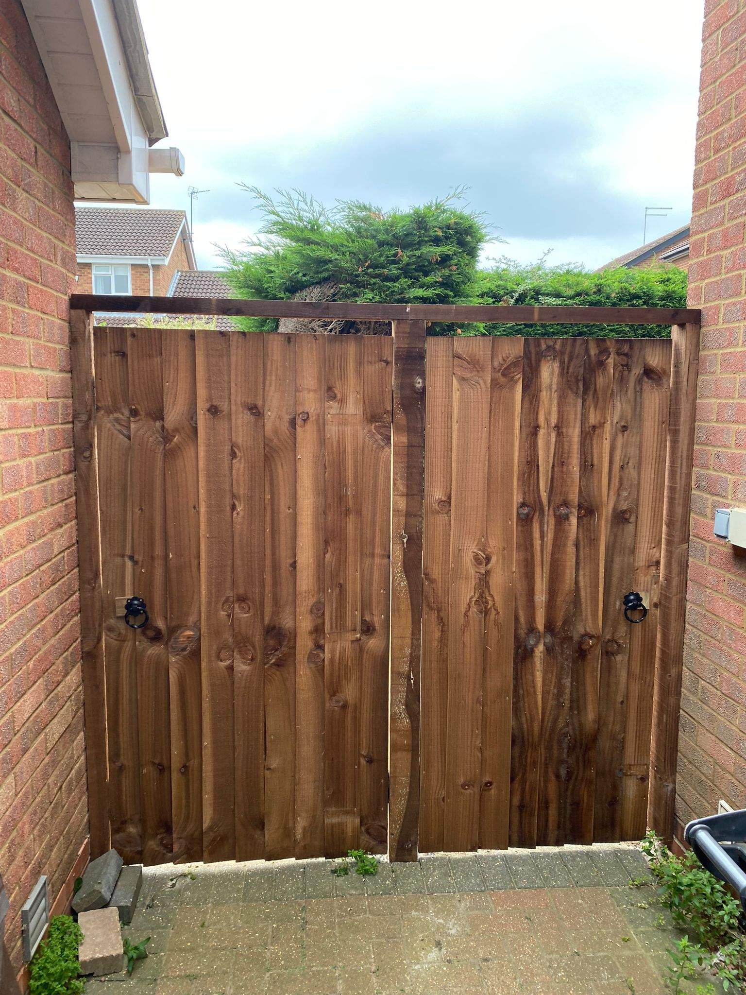 Featheredge Gates installed in Gunthorpe